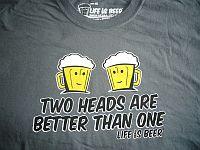 Beer 2 heads